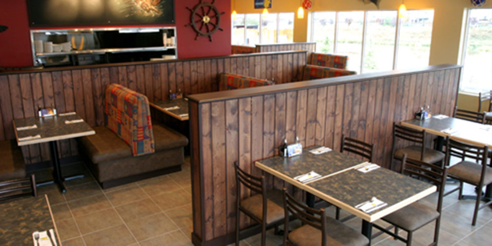 Comfortable seating at Joey's in Airdrie