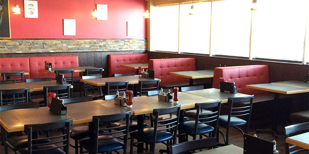 Spacious seating at our 32nd Avenue location