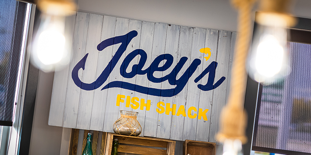 Joeys Fish Shack Decor