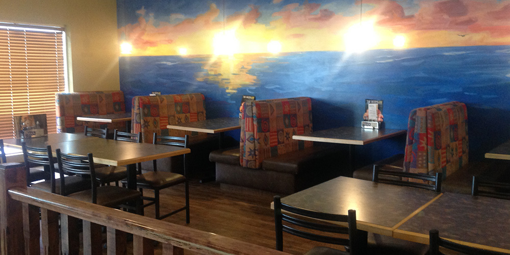Sit by the seaside at our High River location