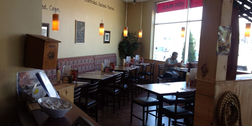 Dining at our Brantford location